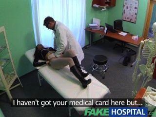 поддельные больницы сексуальное лечение превращает великолепный грудастая стоны пациентов боли