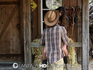 Hd Fantasyhd - пастушка Дэни Дэниелс едет член на ферме