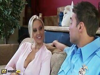 апп получает джулия интервью Rocco тростником, а затем трахается с ним