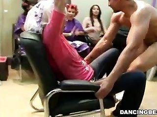 парикмахерская полны роговой женщины дают Bjs