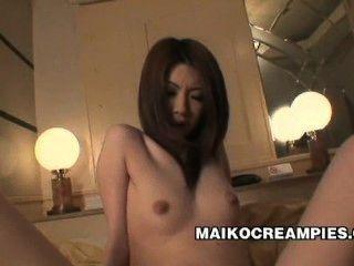 живенько япония молодых Nayu Кунии дразнили и трахал