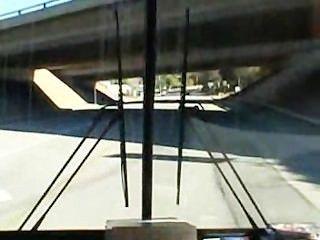 3 пижоны трахают Джиа Палома на дороге поездки
