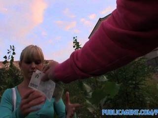 Publicagent Hd восхитительная блондинка милашка берет мой большой член в ее сладкую киску