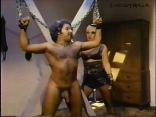 Ron Jeremy - связаны мастурбирует