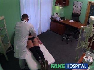 Fakehospital горячие 20s гимнастка соблазнил врача и данного Creampie