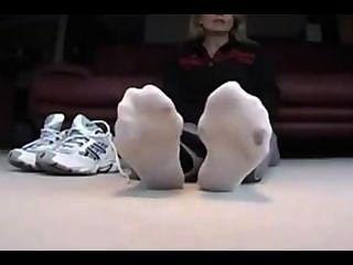 сексуальные ноги и носки Pov часть 1