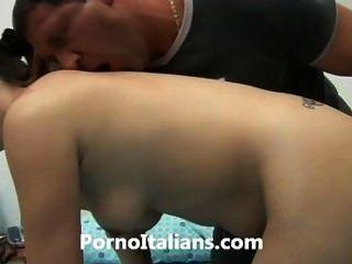 Ragazza Vogliosa Italiana Scopata да Сталлоне девушка трахает нетерпеливого итальянской