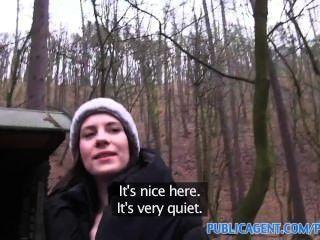 Publicagent открытый секс снятый на любительскую видеокамеру в общественном месте