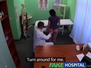 Fakehospital врач решает депрессии пациента через оральный секс и порево